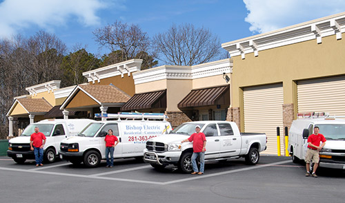 Electrical Services in The Woodlands, Spring, Conroe and Montgomery County