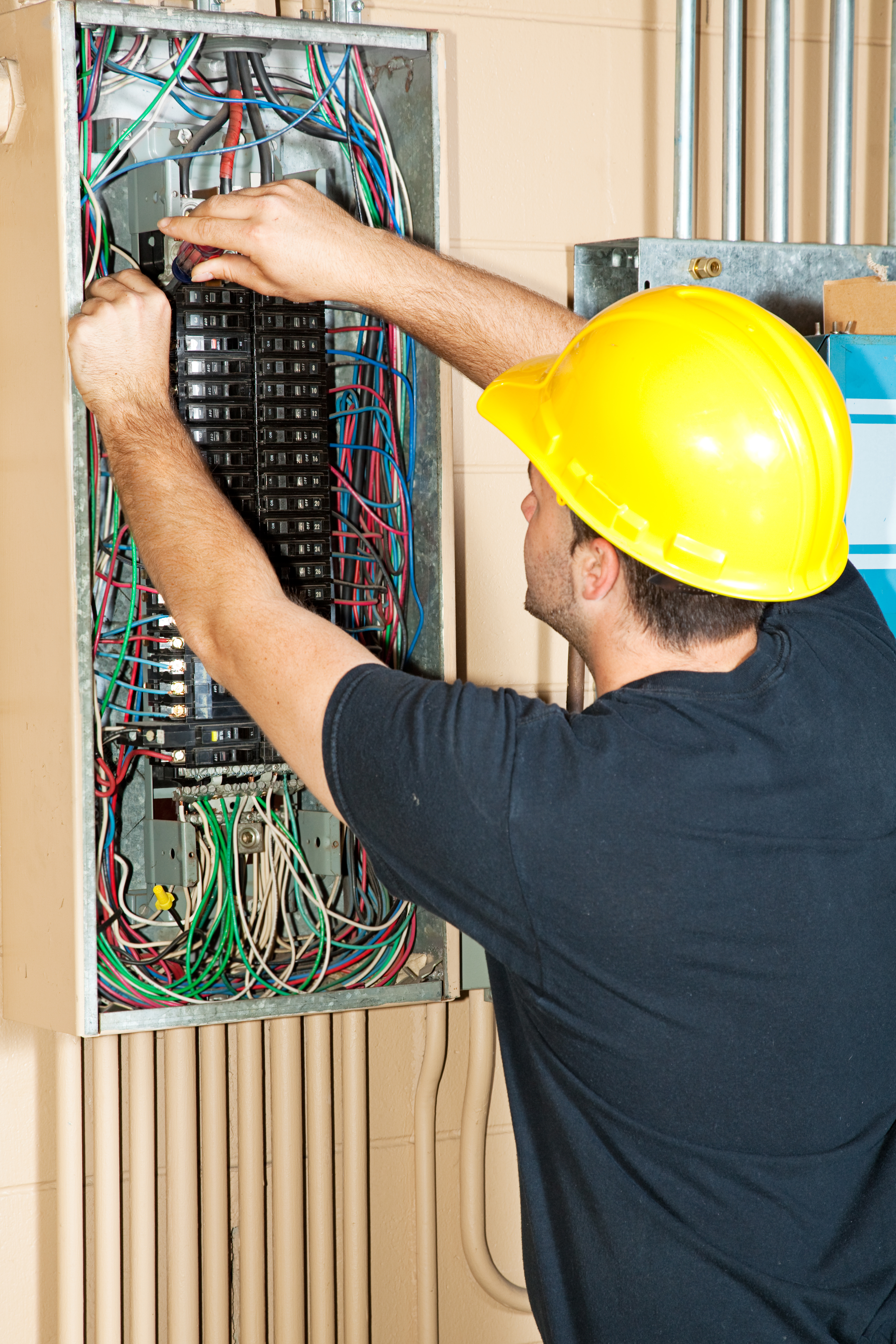 Aaa Bishop Electric The Woodlands Tx Electrician Electrical Wiring In Home Circuit Breaker Box Volt Fuse Replacement