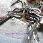 burned aluminum wires-close-up-1